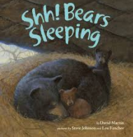 """Shh! Bears Sleeping"" book cover"