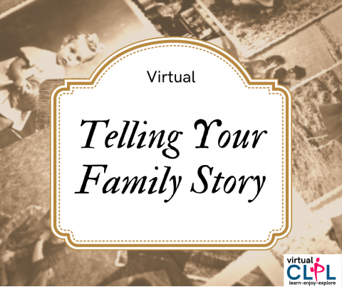Telling Your Family Story Logo